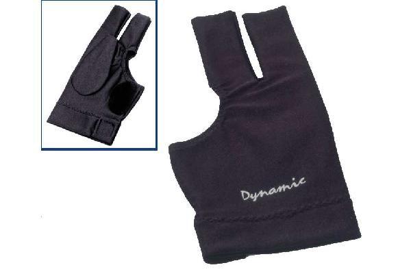 Dynamic Deluxe 2, open, black, Lycra, leather patch